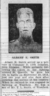 Pvt Albert Edgar Smith (1895-1918) - Find A Grave Memorial