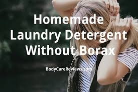 homemade laundry detergent without borax