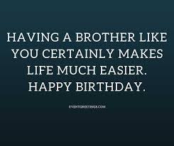wishes for birthday for brother