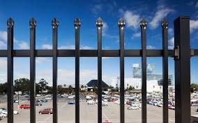 Flat Top Tubular Steel Fence Panels 2100mm Height X 2400mm Width Rails 40mm X 40mm Upright 25mm X 25mm For Sale Diplomat Fence Manufacturer From China 107851271