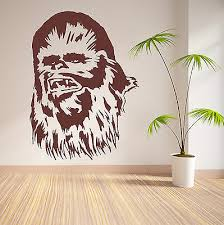 Chewbacca Star Wars Chewie Vinyl Wall Art Sticker Movie Decal Bedroom Ebay