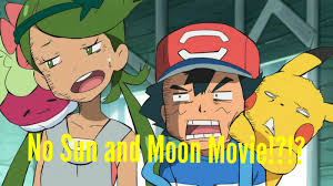 Just realized that there's no Sun and Moon movie while doing an Pokemon  movies Marathon : pokemon