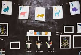 How To Create A Chalkboard Wall For Your Kid S Room Relay Blog