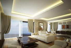 intere gypsum ceiling livingroom