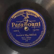 Priscilla Stewart / Priscilla Stewart, Clarence (Jelly) Johnson* - Switch  It Miss Mitchell / Going To The Nation (1925, Shellac) | Discogs