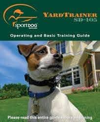 Sportdog Sd 105 Manual Dog Training Collars