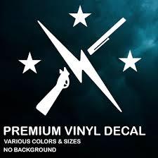 The Minutemen Fallout 4 Premium Vinyl Decal Sticker Xbox Ps4 Pc Car Ebay