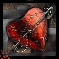 قلوب حزينة مجروحة