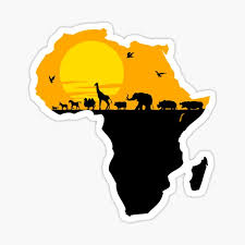 Africa Stickers Redbubble