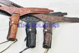 rig leather holster pattern pack cowboy