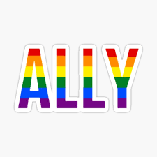 Lgbt Ally Stickers Redbubble