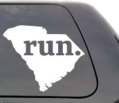 Amazon Com South Carolina Run Decal South Carolina Sc Run Decal State Running Decal Car Decal Yeti Decal Laptop Decal Window Decal Vinyl Decal