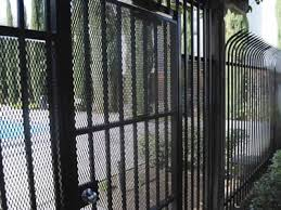 Expanded Metal Security Fences For Highway Court Farm Fencing