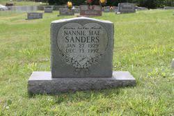 Nannie Mae Lewis Sanders (1929-1992) - Find A Grave Memorial