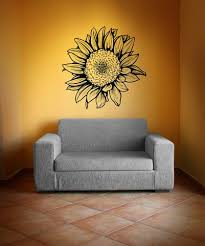 Sunflower Vinyl Wall Decal Sticker 1069 Stickerbrand