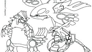 Pokemon Groudon Coloring Pages At Getdrawings Free Download
