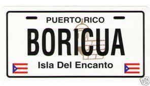 Puerto Rico Flag Boricua Car Sticker Decal