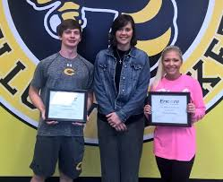 Hayden Encore Athletes of the Month, Chloe Moseley and Dustin Wood. |  Encore Rehabilitation, Inc.