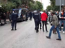 La Policía toma la calle Nuñez de Balboa antes del comienzo de la ...