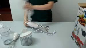 Hướng dẫn sử dụng Bộ Máy Xay Đánh Trứng Cầm Tay Sokany HB230A - YouTube