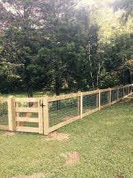 Beautiful Farm Fence Done In Nashville Backyard Fences Farm Fence Backyard