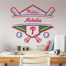 Philadelphia Phillies Personalized Name Officially Licensed Mlb Transfer Decal