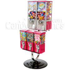 5 unit toy and gumball vending machine