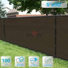 Patio Paradise 5 X 50 Brown Fence Priv Buy Online In Canada At Desertcart