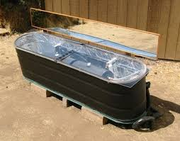 diy stock tank solar hot water heater