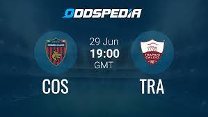 Cosenza Calcio - Trapani » Latest Odds & Stats + Fast Livescore
