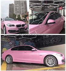 1 52x20m 5x67ft Macaron Cherry Pink Pearl Glossy Vinyl Wrap Sticker With Air Bubble Free Vehicle Wrapping Foil Car Stickers Aliexpress