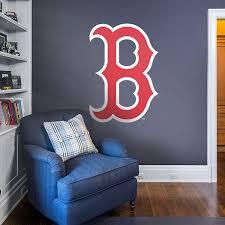 Boston Red Sox B Logo Red Sox Room Boston Red Sox Room Basement Decor