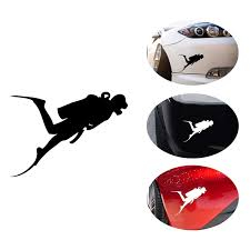 Ocean World Diving Adventure Decal Car Personality Fish Car Sticker Black Silver Buy Diving Adventure Decal Personality Fish Car Stickers Good Quality Car Transfer Decals Product On Alibaba Com