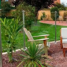Garden Fence Oceanix Aquatic Serenity With Panels Glass Screening