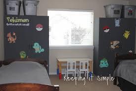 Diy Pokemon Decals For Boys Bedroom Wardrobe282292 Keeping It Simple