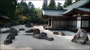 zen buddhist garden kongobuji koyasan