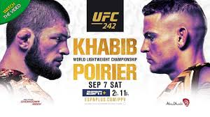 UFC 242 Khabib vs Poirier: Fight card, UK start time, TV channel and live  stream information - Mirror Online