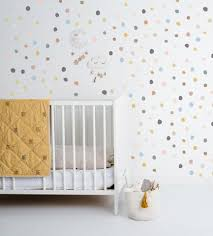 Colors On Colors Tiny Hand Drawn Dots Wall Decal The Lovely Wall Company