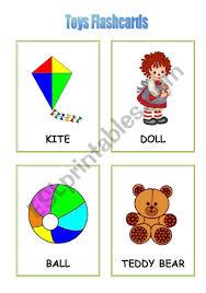 toys flashcards esl worksheet by liz beth