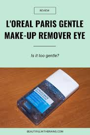 l gentle make up remover eye