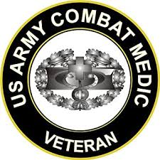 Amazon Com Militarydecals23 5 5 Us Army Combat Medic Veteran Decal Sticker Automotive