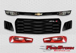 2019 Zl 1 Camaro Racing Graphics Headlight Decal Kit