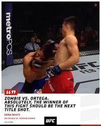 Korean Zombie vs Brian Ortega fight ...