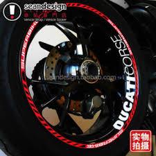 Blue Red Gold White Color Motorcycle Wheel Rim Stripe Stickers Tape Decals For Suzuki Gsxr Gsxr600 Gsxr750 Gsxr1000 Gsxr Fairing Parts