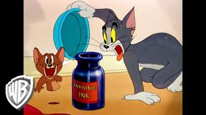 Tom & Jerry | Invisible Ink | Classic Cartoon