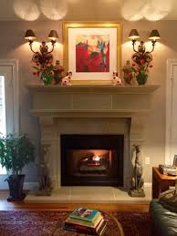 cleaning of your cast stone fireplace