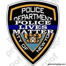 Sticker New York City Police Department Plm Nxh90445