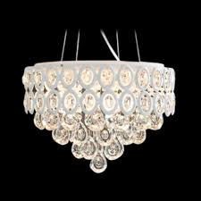 hand cut crystal droplets waterfall and