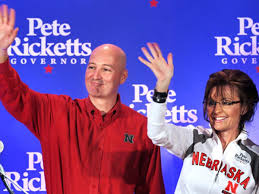 Sarah Palin stops in G.I. to endorse Pete Ricketts | Grand Island Local  News | theindependent.com