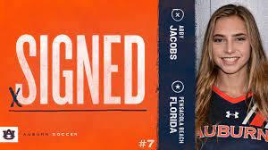 Auburn Soccer - Already on campus, Abby Jacobs is the... | Facebook